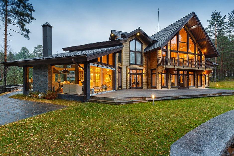 Фотография: Архитектура в стиле , Классический, Дом, Дома и квартиры, Проект недели, Дача – фото на INMYROOM