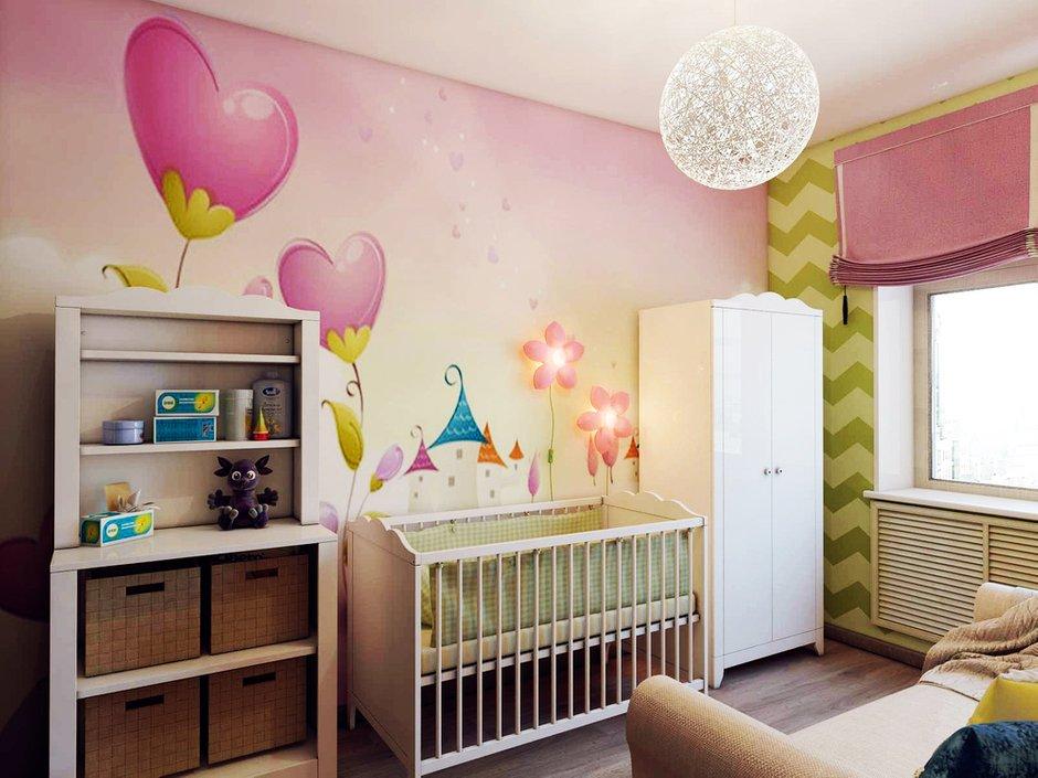 Фотография: Детская в стиле Современный, Квартира, Россия, Проект недели, Новая Москва – фото на INMYROOM