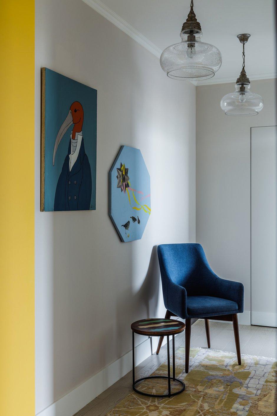 Фотография: Прихожая в стиле Скандинавский, Эклектика, Квартира, Проект недели, Москва, 3 комнаты, 60-90 метров, Анастасия Струве – фото на INMYROOM