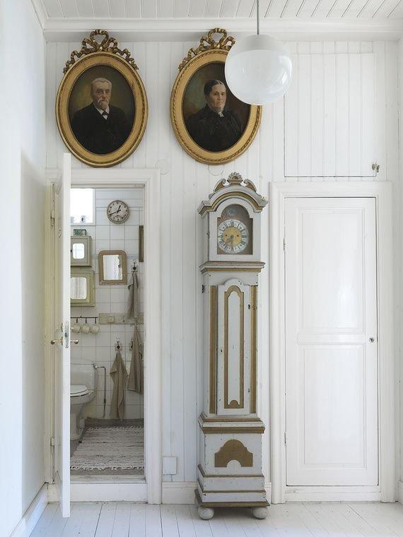 Фотография: Ванная в стиле Прованс и Кантри, Классический, Декор интерьера, Декор дома, Картины – фото на INMYROOM