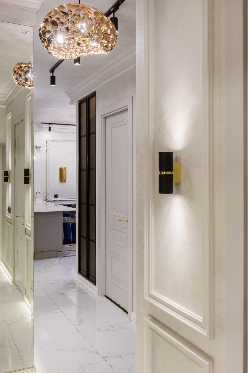 Фотография:  в стиле , Современный, Квартира, Проект недели, Samsung, 3 комнаты, 40-60 метров, интерьерный телевизор, the serif, Оксана Нечаева – фото на INMYROOM