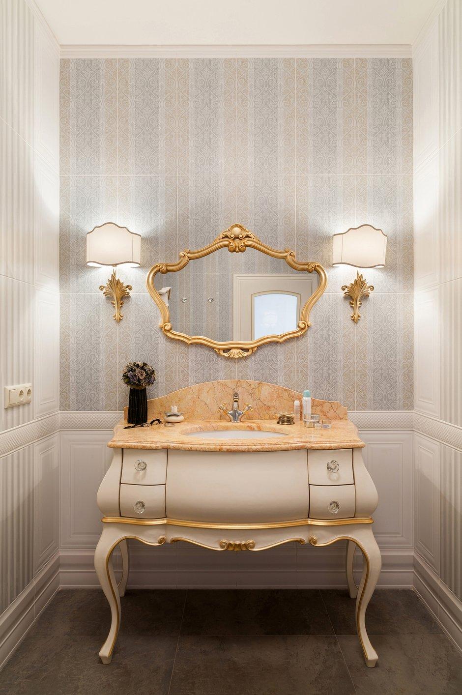 Фотография: Ванная в стиле Классический, Квартира, Дома и квартиры, Проект недели, Москва – фото на InMyRoom.ru