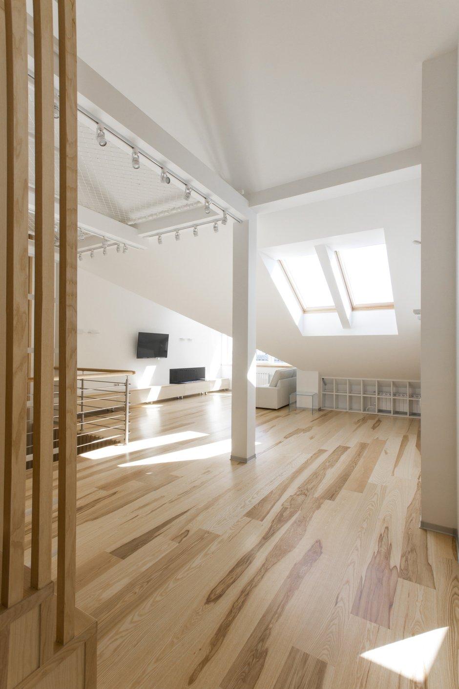 Фотография: Прихожая в стиле Лофт, Квартира, BoConcept, Дома и квартиры, Белый, IKEA, Проект недели, Мансарда – фото на INMYROOM
