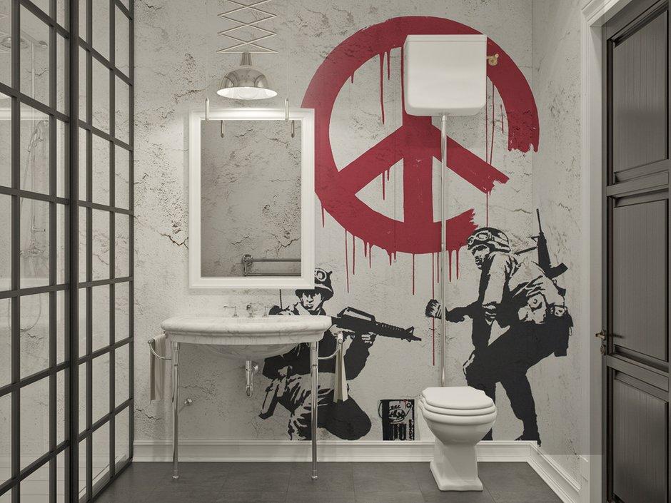 Фотография:  в стиле , Лофт, Квартира, Проект недели, «Победа дизайна» – фото на INMYROOM