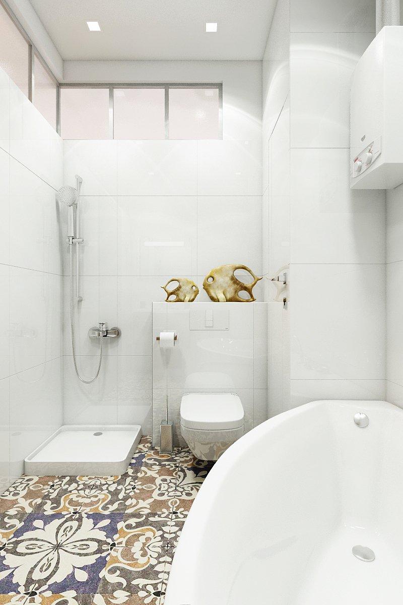 Фотография: Ванная в стиле Современный, Эклектика, Квартира, Минимализм, Проект недели – фото на INMYROOM