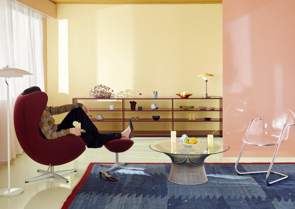 Фотография: Прихожая в стиле Современный, Декор интерьера, Цвет в интерьере, Желтый, цветовая гамма интерьера, Tikkurila, энциклопедия_декор, энциклопедия_интерьер, цвет 2020 – фото на INMYROOM