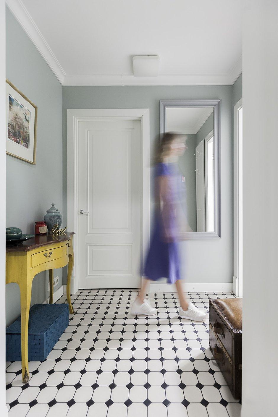 Фотография:  в стиле , Квартира, Проект недели, Москва, Герой InMyRoom, 3 комнаты, 60-90 метров, Монолитно-кирпичный – фото на INMYROOM