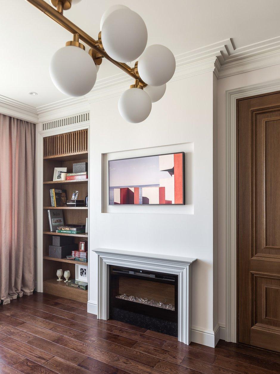 Фотография: Гостиная в стиле Современный, Квартира, Проект недели, Москва, 2 комнаты, 40-60 метров, Алина Лютая – фото на INMYROOM