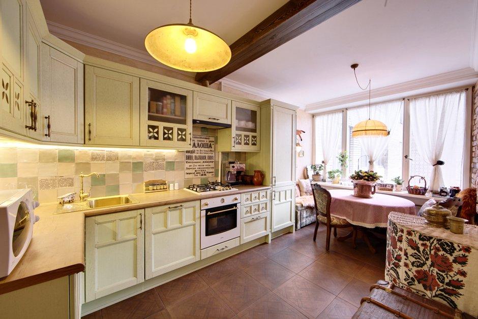 Фотография: Кухня и столовая в стиле Прованс и Кантри, Квартира, Дома и квартиры, IKEA, Проект недели – фото на INMYROOM