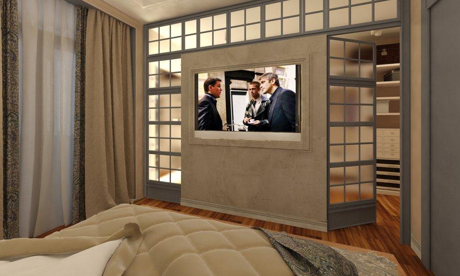 Фотография: Спальня в стиле Восточный, Квартира, Дома и квартиры, Проект недели, Переделка – фото на INMYROOM