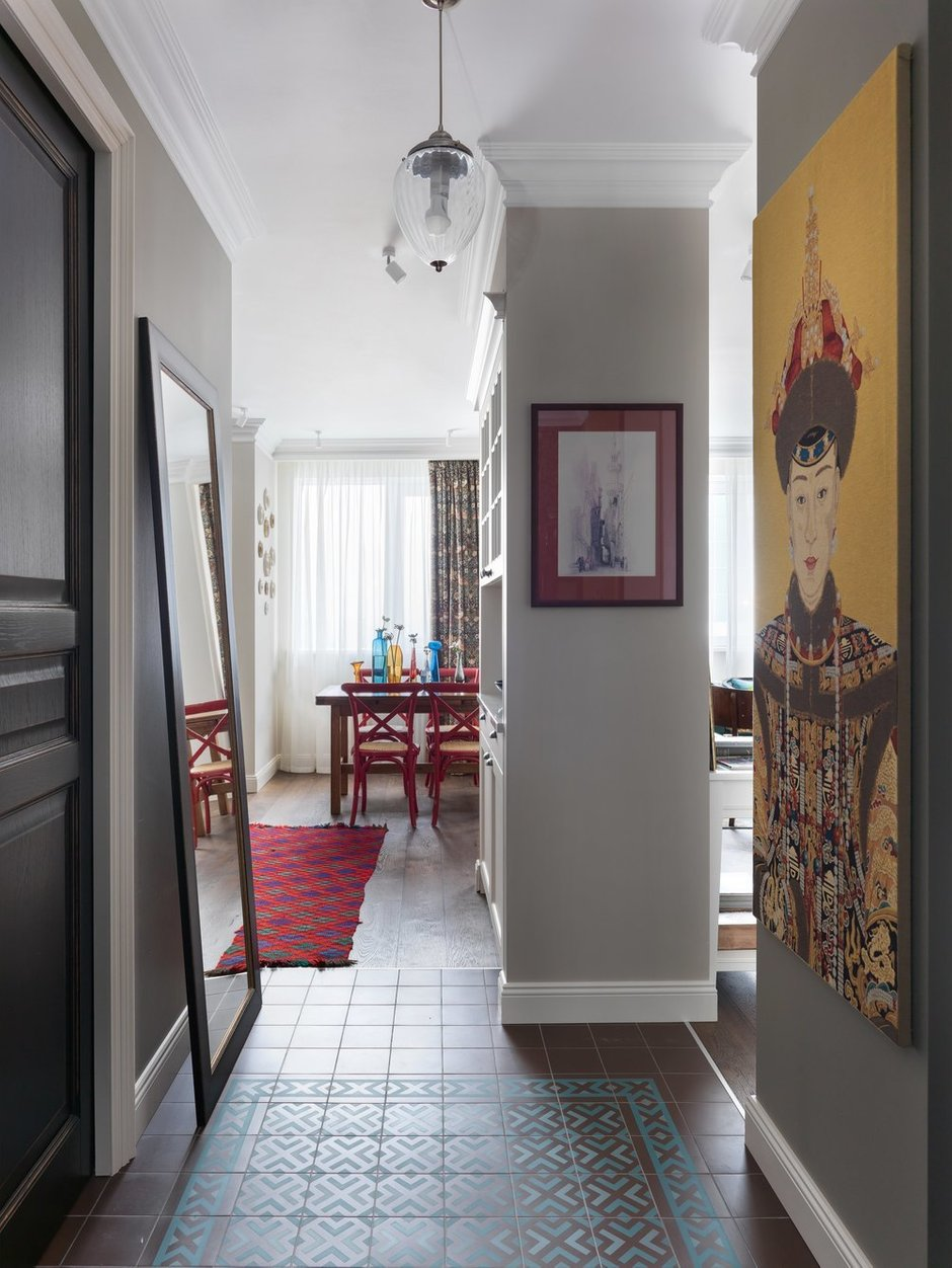Фотография: Кухня и столовая в стиле Восточный, Эклектика, Квартира, Проект недели, Москва, Сергей Красюк, Олеся Шляхтина, 1 комната, 40-60 метров – фото на INMYROOM