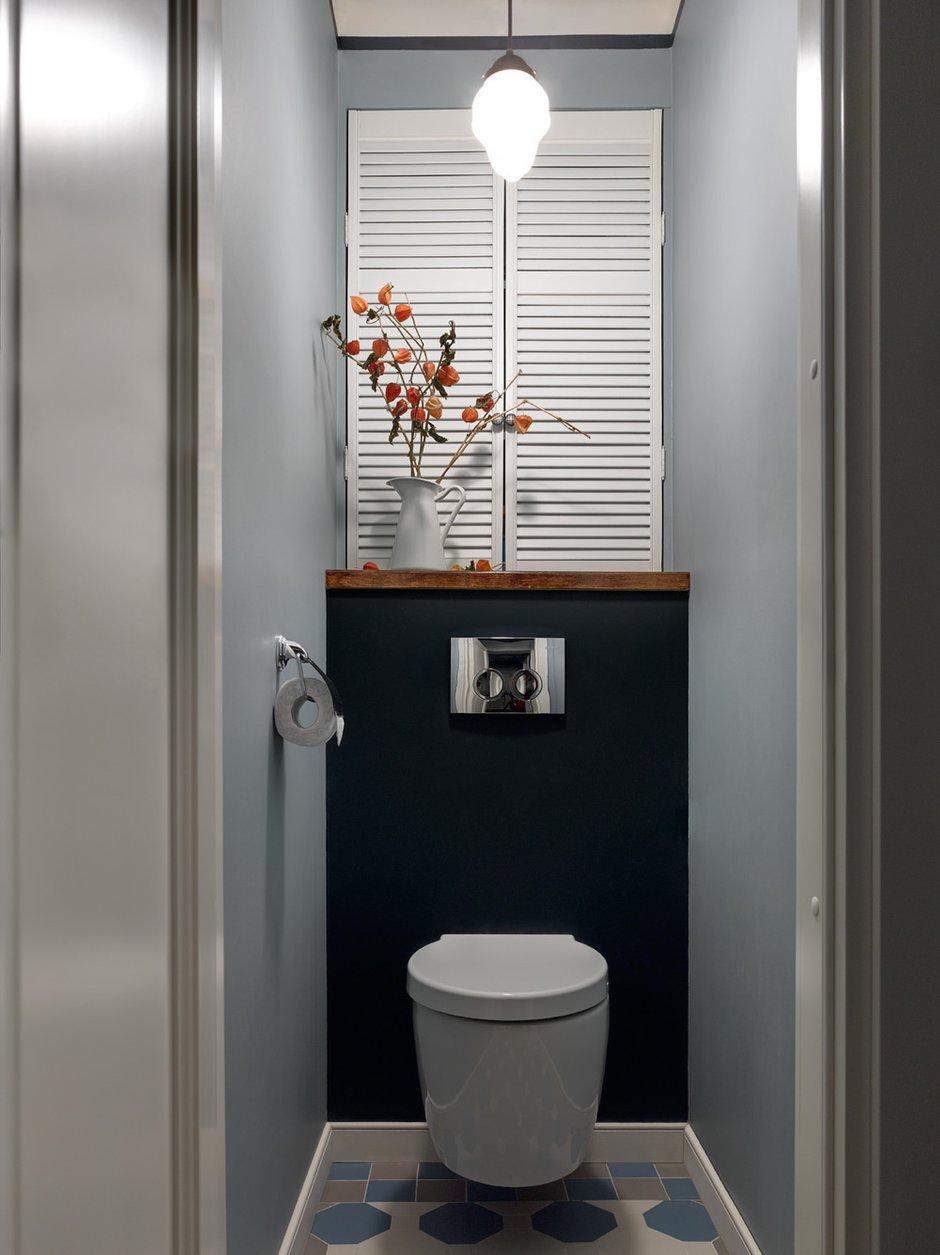 Фотография: Ванная в стиле Эклектика, Малогабаритная квартира, Квартира, Проект недели, Москва, Кирпичный дом, 2 комнаты, до 40 метров, 40-60 метров, Инна Зольтманн – фото на INMYROOM