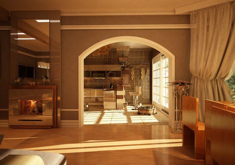 Фотография: Гостиная в стиле , Дом, Дома и квартиры, Проект недели, Современное искусство – фото на INMYROOM