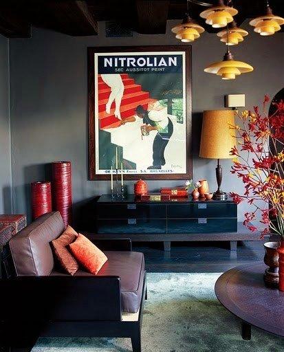 Фотография: Гостиная в стиле Эклектика, Дом, Дома и квартиры, Интерьеры звезд, Калифорния – фото на INMYROOM