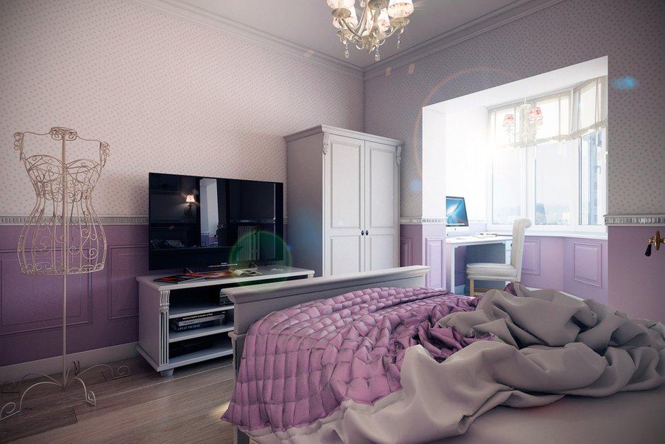 Фотография: Спальня в стиле Прованс и Кантри, Квартира, Дома и квартиры, Прованс, Проект недели, Москва – фото на InMyRoom.ru