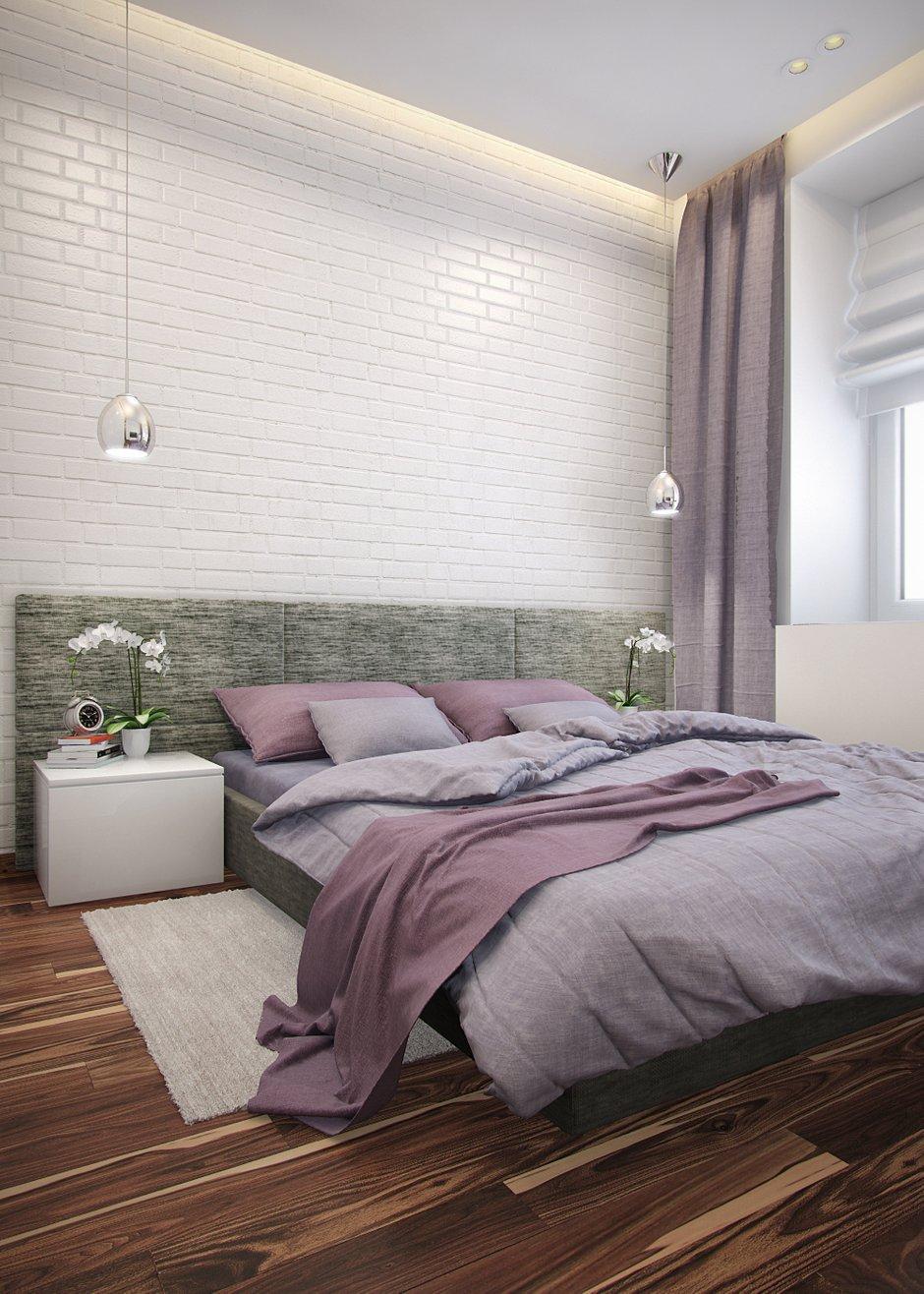 Фотография: Спальня в стиле Современный, Минимализм, Эклектика, Квартира, Проект недели – фото на INMYROOM