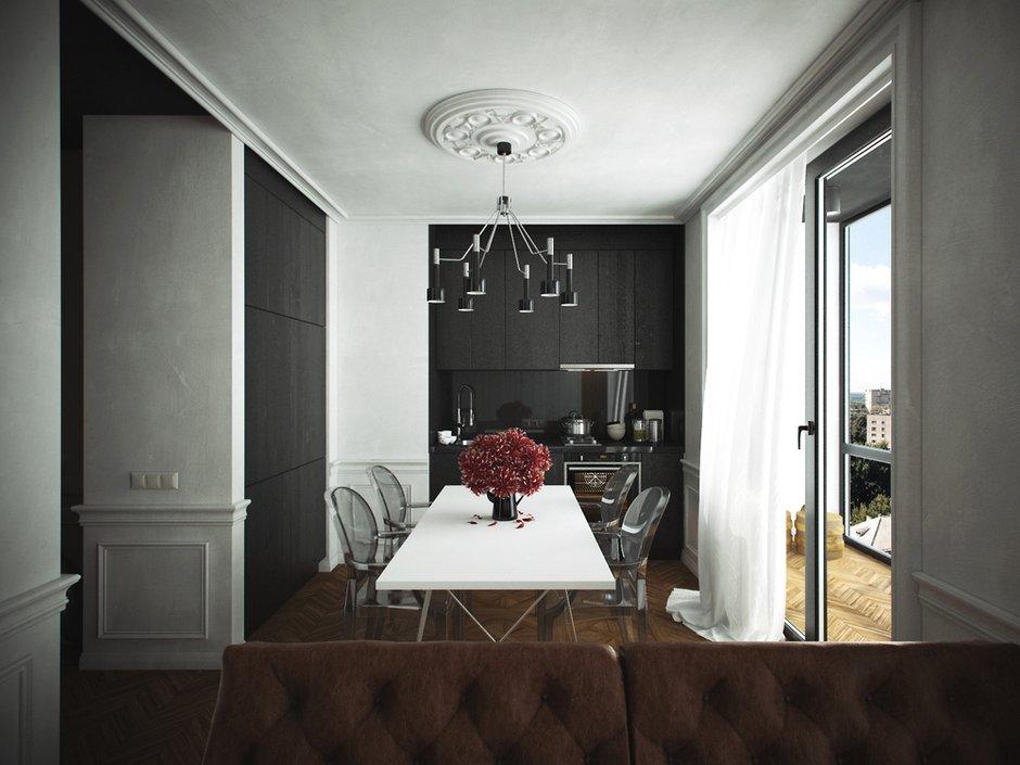 Фотография: Кухня и столовая в стиле Современный, Эклектика,  – фото на INMYROOM