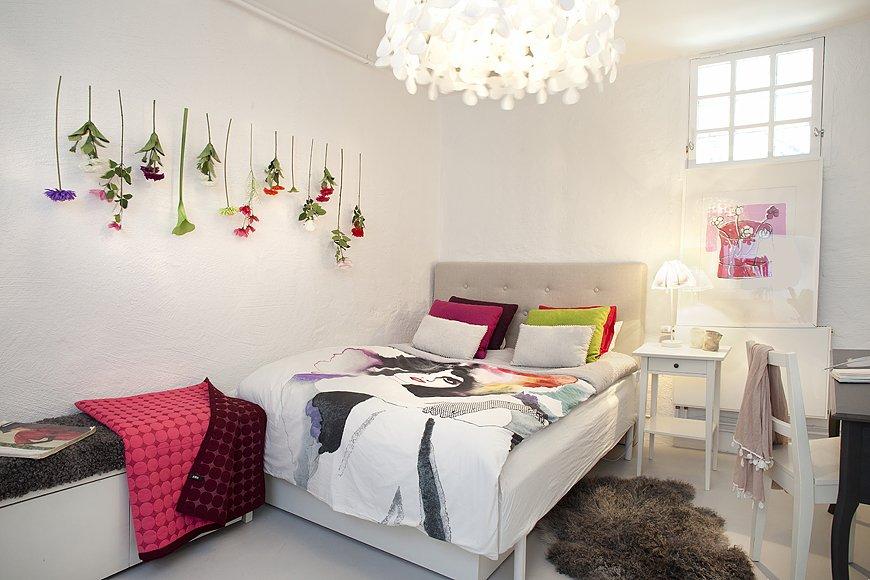 Фотография: Спальня в стиле Скандинавский, Современный, Квартира, Дома и квартиры, Стокгольм – фото на INMYROOM