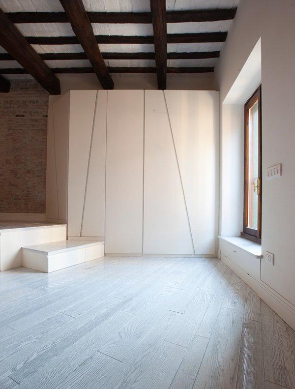 Фотография:  в стиле Современный, Малогабаритная квартира, Квартира, Италия, Дома и квартиры – фото на INMYROOM