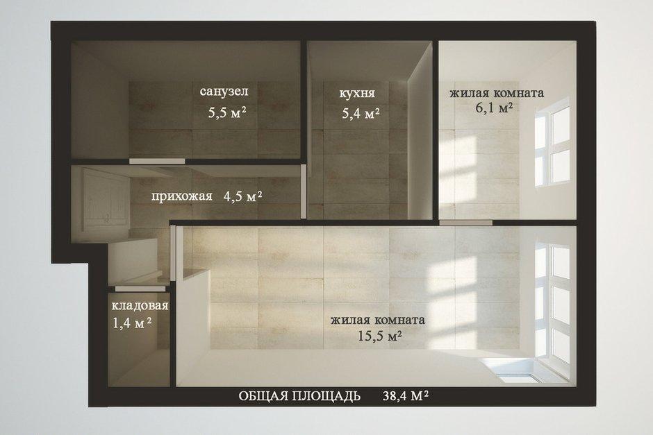 Фотография: Кабинет в стиле , Квартира, Планировки, Перепланировка, ЖК АРТ, перепланировка двухкомнатной квартиры, двушка, планировка двушки, ЖК ART – фото на INMYROOM