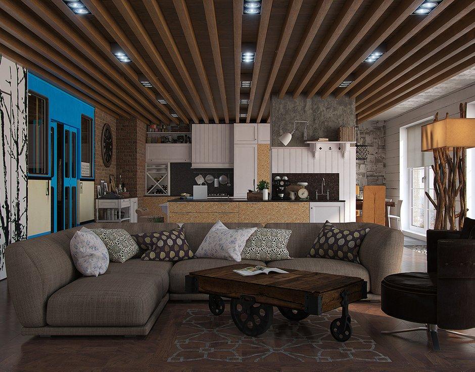 Фотография: Гостиная в стиле Современный, Декор интерьера, Квартира, Foscarini, Restoration Hardware, Дома и квартиры, IKEA, Проект недели – фото на INMYROOM