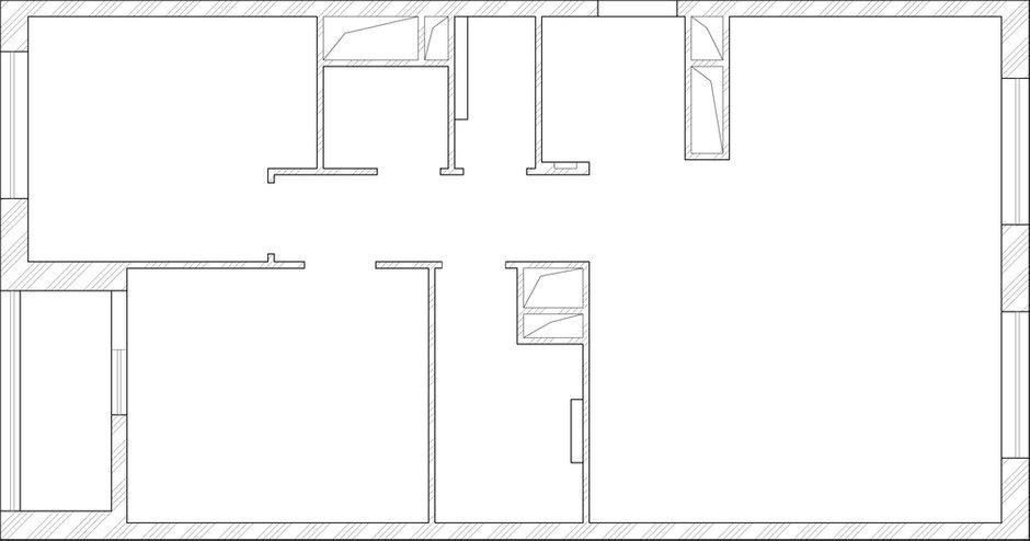 Фотография: Планировки в стиле , Классический, Квартира, Проект недели, Московская область, новостройка, Александра Никулина, Монолитный дом, 3 комнаты, 60-90 метров – фото на INMYROOM