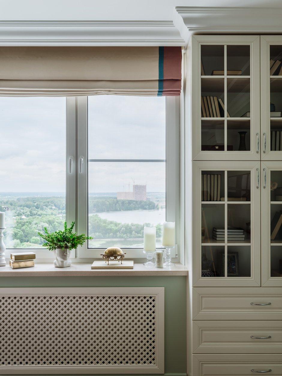 Фотография: Гостиная в стиле Классический, Современный, Квартира, Проект недели, Красногорск, Монолитный дом, 2 комнаты, 60-90 метров, Лина Савина – фото на INMYROOM