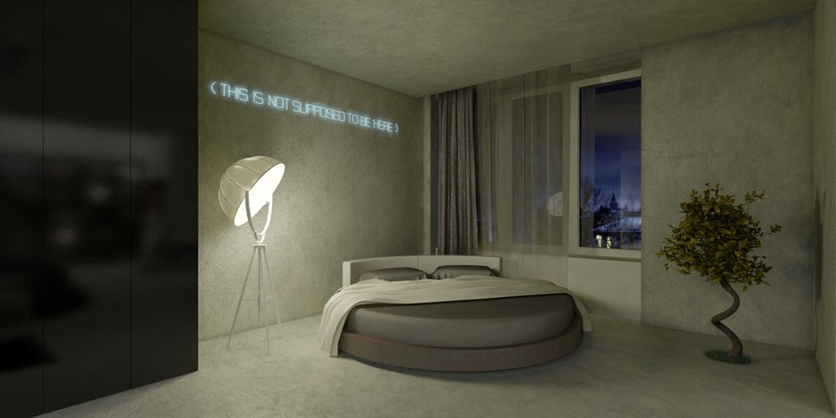 Фотография: Спальня в стиле Современный, Эклектика, Декор интерьера, Квартира, Дома и квартиры, Проект недели – фото на INMYROOM