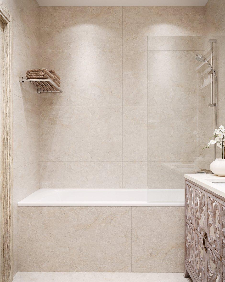 Фотография: Ванная в стиле Классический, Квартира, Проект недели, Москва, 3 комнаты, 60-90 метров, Светлана Удзилаури – фото на INMYROOM