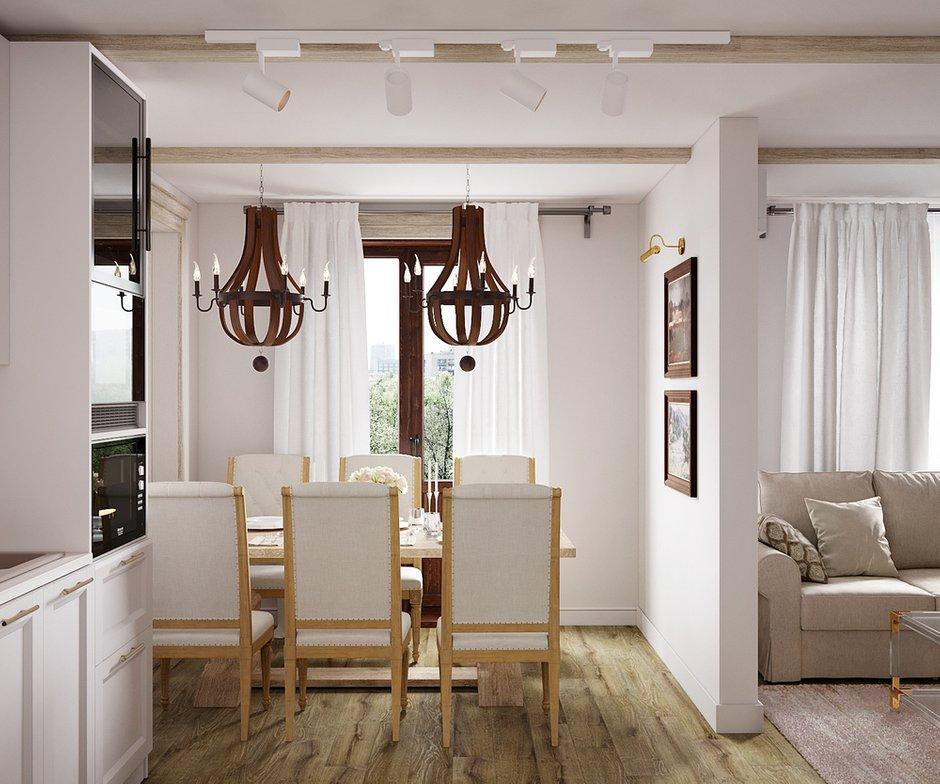 Фотография: Кухня и столовая в стиле Классический, Квартира, Проект недели, Москва, 3 комнаты, 60-90 метров, Светлана Удзилаури – фото на INMYROOM