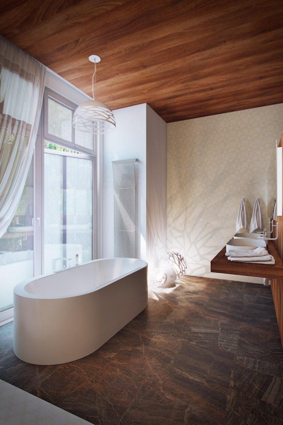 Фотография: Ванная в стиле Лофт, Скандинавский, Эко, Дом, Минимализм, Проект недели – фото на INMYROOM