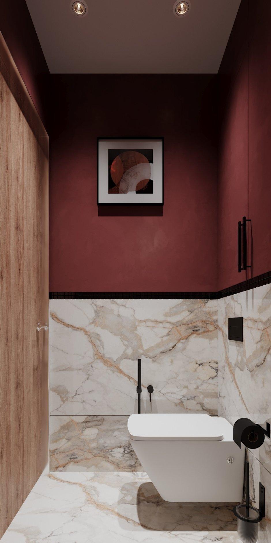 Фотография: Ванная в стиле Современный, Эклектика, Квартира, Проект недели, Монолитный дом, 3 комнаты, 60-90 метров, Светлана Удзилаури, Брянск – фото на INMYROOM