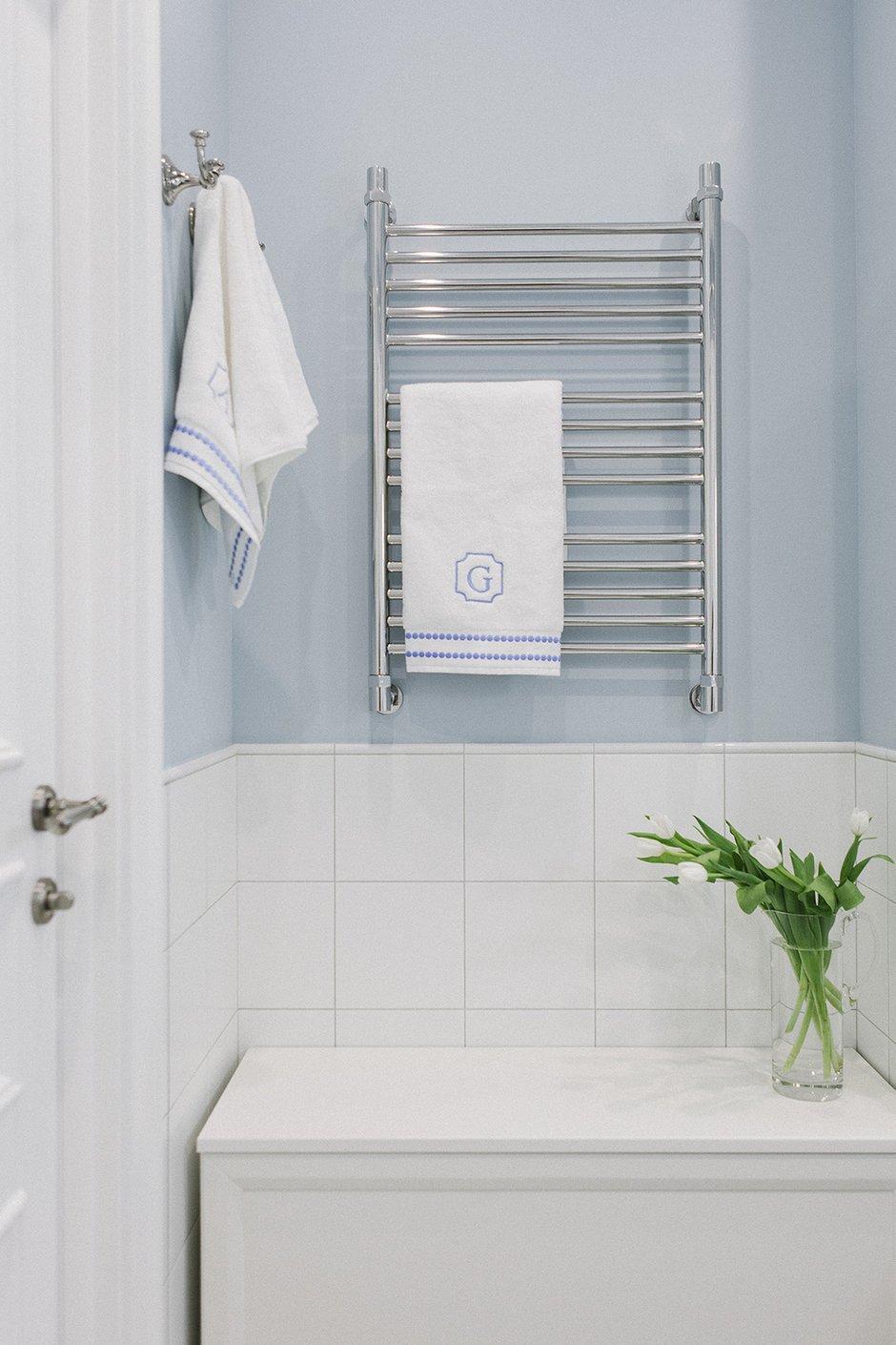 Фотография: Ванная в стиле Классический, Квартира, Проект недели, Химки, Инна Величко, 3 комнаты, 60-90 метров – фото на INMYROOM