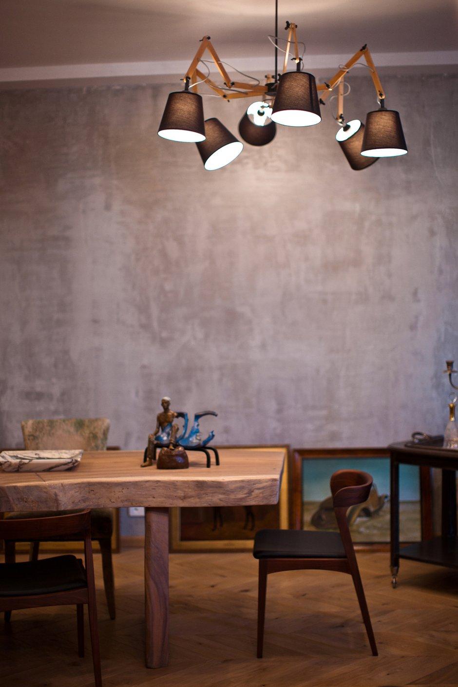 Фотография: Кухня и столовая в стиле Эклектика, Эко, Квартира, Проект недели – фото на INMYROOM