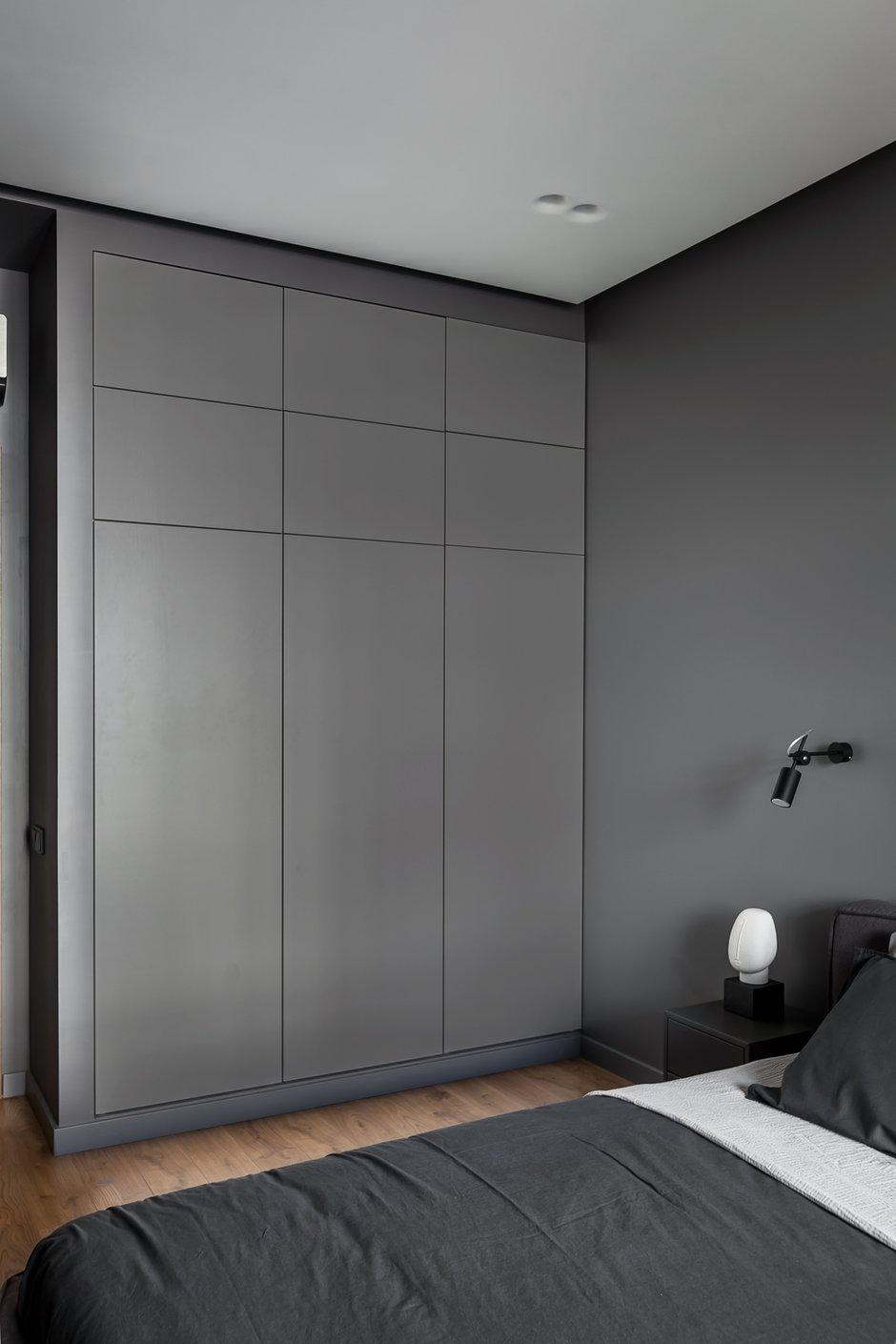 Фотография: Спальня в стиле Минимализм, Современный, Квартира, Проект недели, Химки, 3 комнаты, 60-90 метров, Flatforfox – фото на INMYROOM