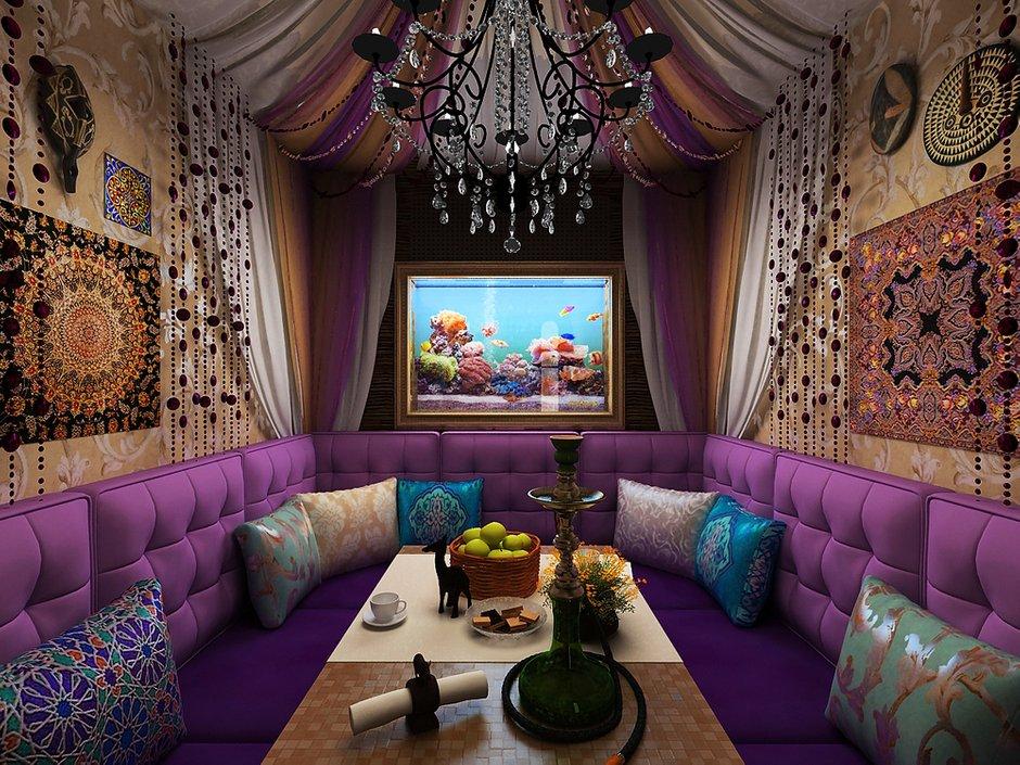 Фотография: Кухня и столовая в стиле Восточный, Декор интерьера, Дизайн интерьера, Цвет в интерьере, Dulux, ColourFutures – фото на INMYROOM