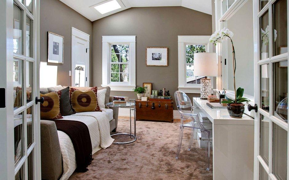 Фотография: Офис в стиле Современный, Дом, Терраса, Дома и квартиры, Бассейн, Калифорния – фото на INMYROOM