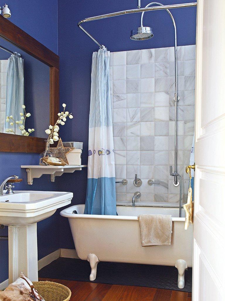 Фотография: Ванная в стиле , Эклектика, Декор интерьера, Квартира, Дом, Праздник, Дома и квартиры – фото на INMYROOM