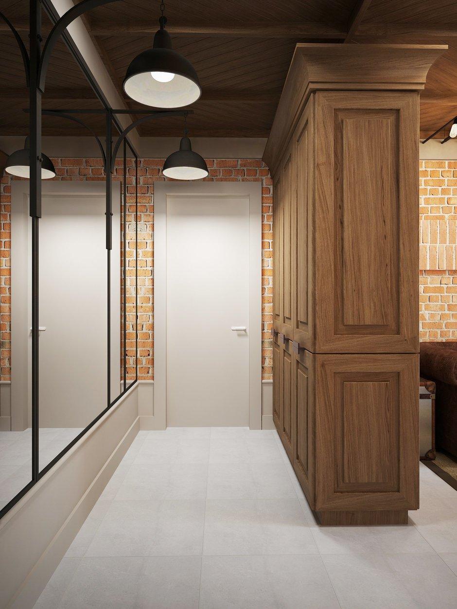 Фотография: Прихожая в стиле Лофт, Квартира, Планировки, Проект недели, Сталинка – фото на INMYROOM