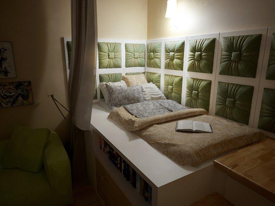 Фотография: Спальня в стиле Современный, Квартира, Дома и квартиры, Проект недели, Пентхаус – фото на INMYROOM