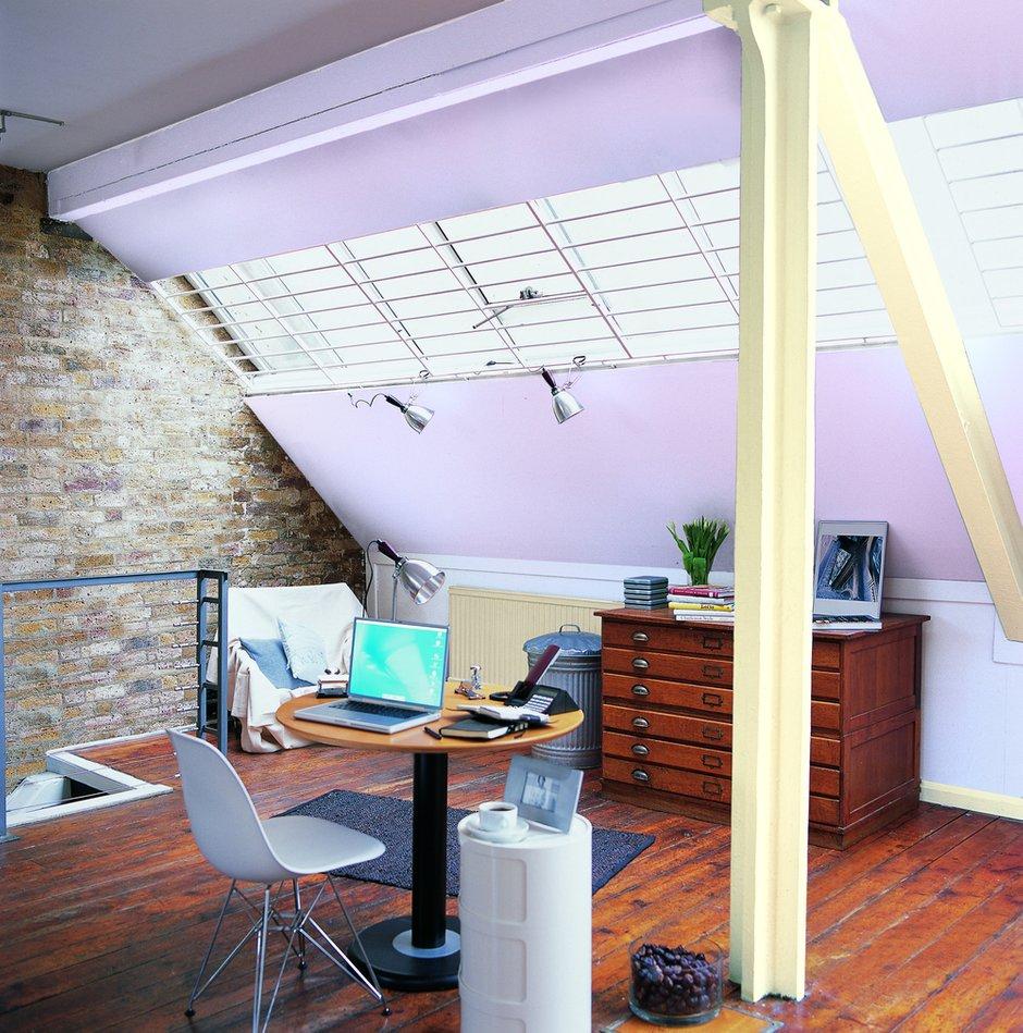 Фотография: Офис в стиле Лофт, Декор интерьера, Дизайн интерьера, Цвет в интерьере, Dulux – фото на INMYROOM