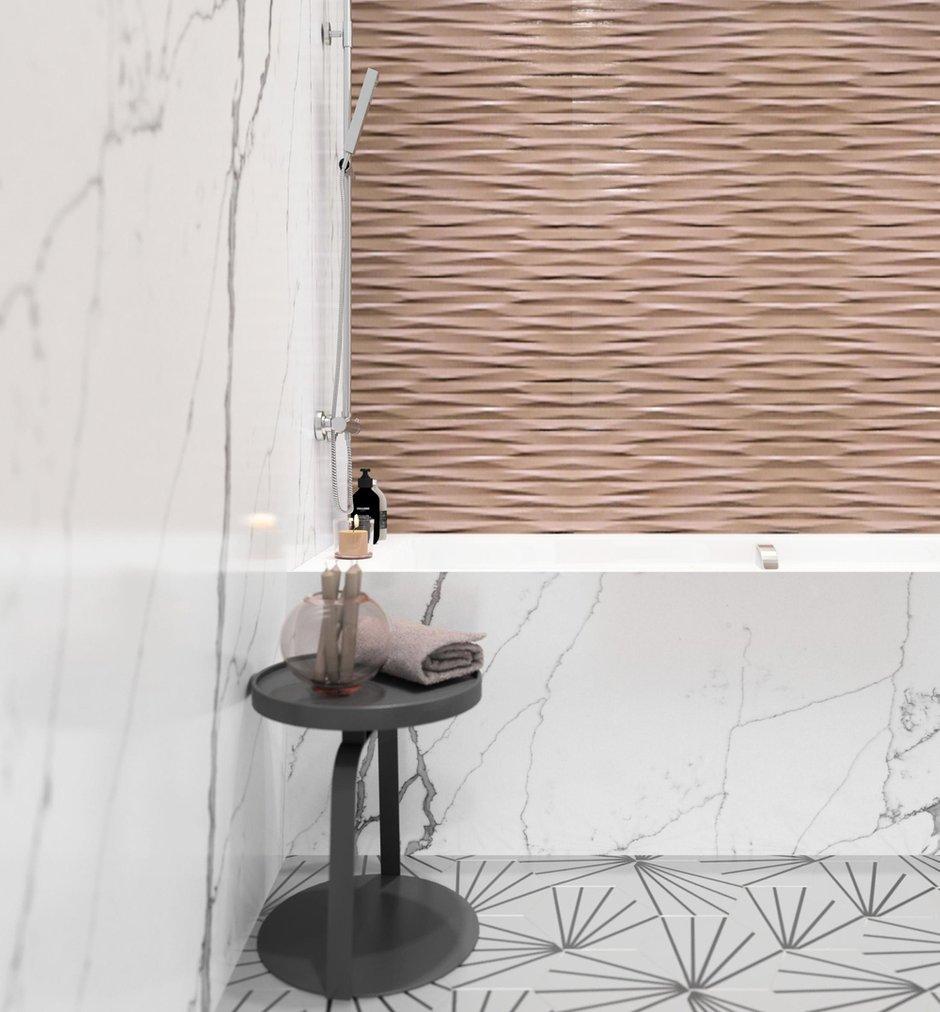 Фотография: Ванная в стиле Современный, Скандинавский, Квартира, Проект недели, Балашиха, Монолитный дом, 4 и больше, Более 90 метров, Нина Шуберт – фото на INMYROOM