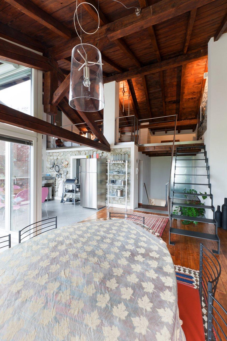 Фотография: Спальня в стиле Прованс и Кантри, Лофт, Современный, Декор интерьера, Квартира, Дома и квартиры, Стена, Индустриальный – фото на INMYROOM