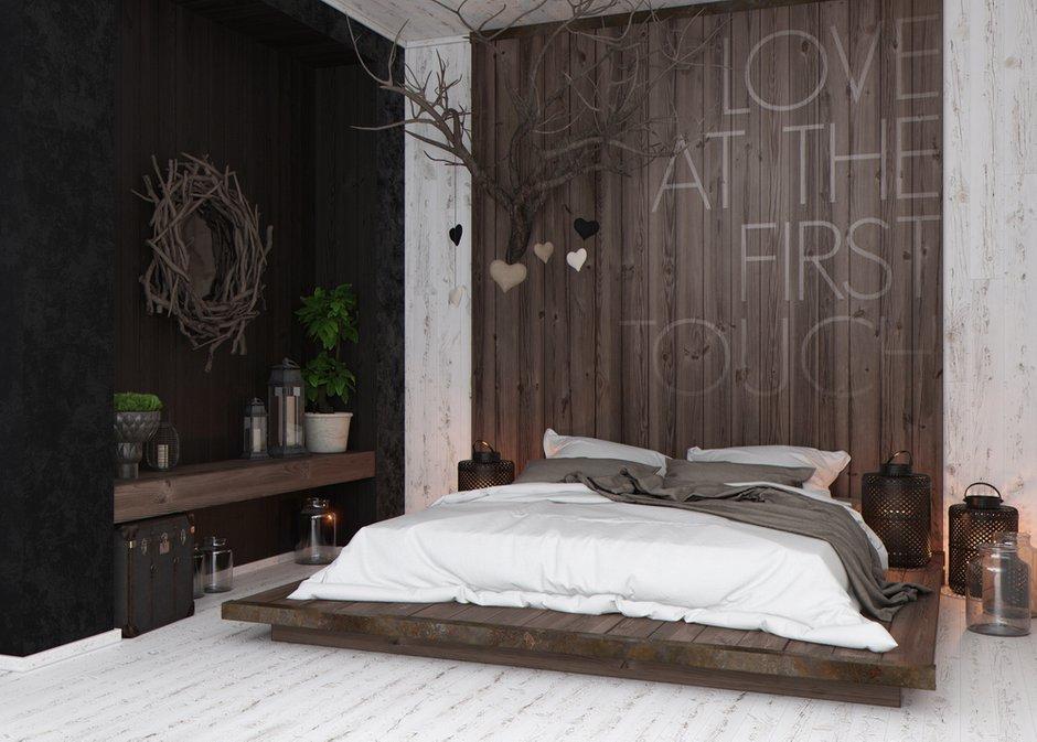 Фотография: Спальня в стиле Современный, Квартира, Дома и квартиры, Перепланировка, Переделка – фото на INMYROOM