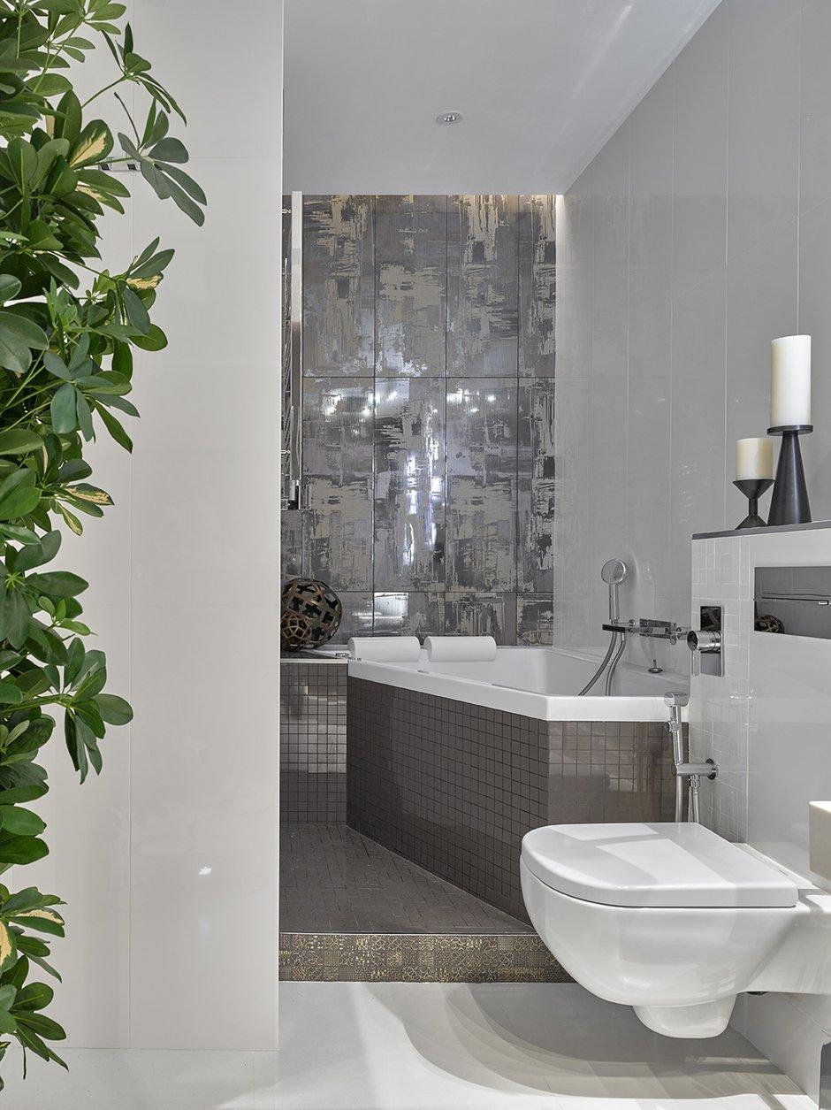 Фотография: Ванная в стиле Современный, Квартира, Проект недели, Москва, Елена Семенова – фото на INMYROOM