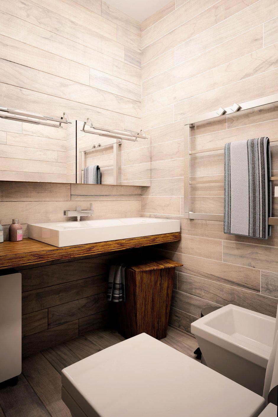 Фотография: Ванная в стиле Лофт, Квартира, Дом, Дома и квартиры, Проект недели – фото на InMyRoom.ru