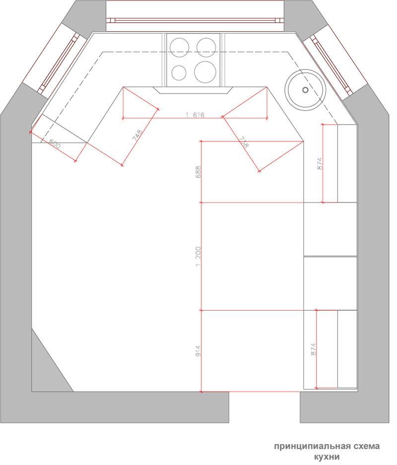 Фотография: Планировки в стиле , Кухня и столовая, Декор интерьера, Интерьер комнат, Проект недели – фото на INMYROOM
