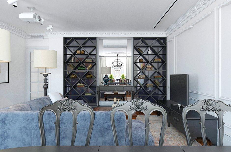 Фотография: Гостиная в стиле Восточный, Лофт, Квартира, Дома и квартиры – фото на INMYROOM