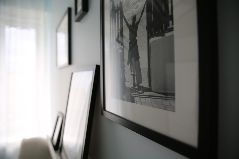 Фотография:  в стиле , Кухня и столовая, Ванная, Прихожая, Спальня, Балкон, Проект недели, Желтый, Синий, Голубой, 1 комната, до 40 метров, ПРЕМИЯ INMYROOM – фото на INMYROOM