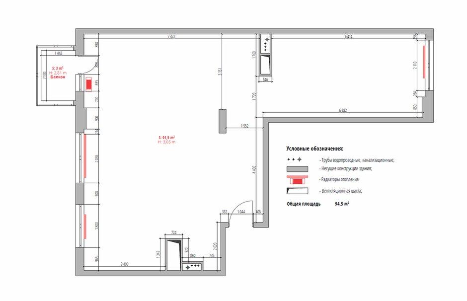 Фотография:  в стиле , Квартира, Проект недели, Москва, Светлана Старцева, 3 комнаты, Более 90 метров – фото на INMYROOM